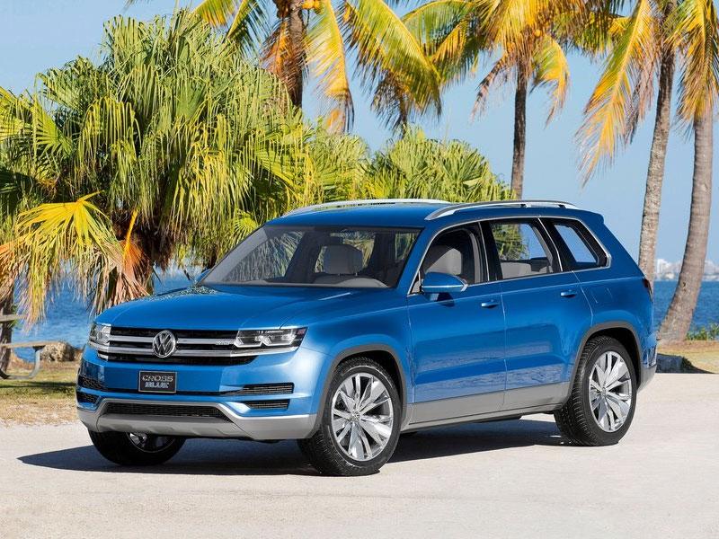 Семиместному кроссоверу Volkswagen дали «зеленый свет»
