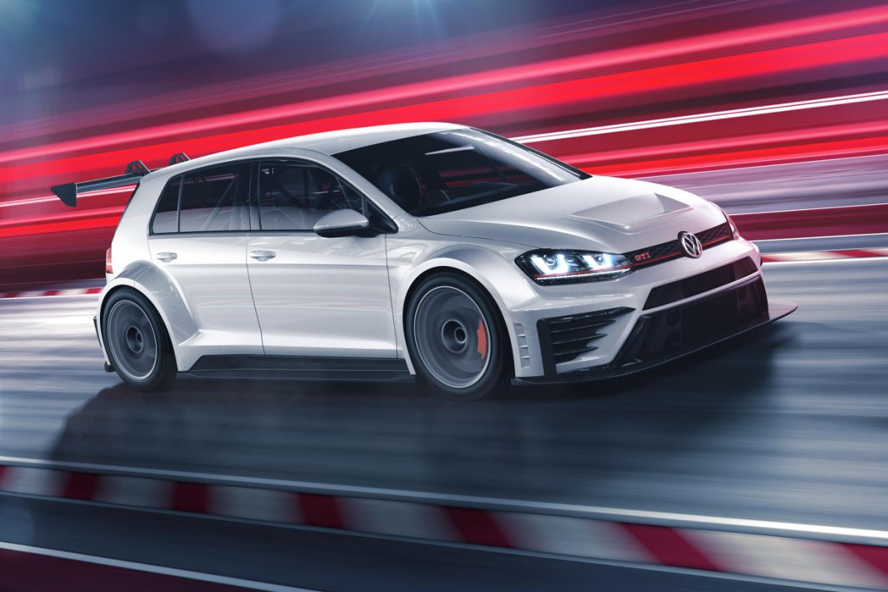 Volkswagen подготовил 330-сильный Golf GTI для кузовных гонок