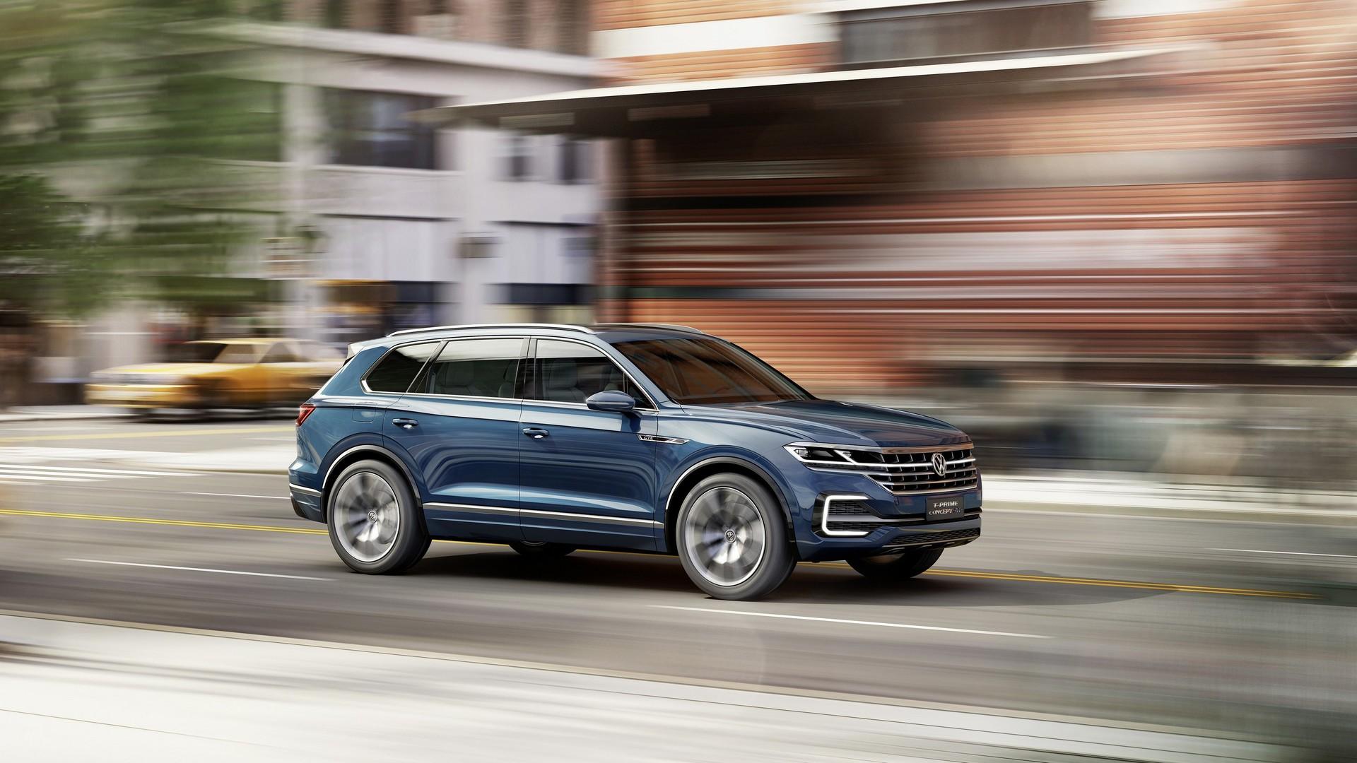 Новый VW Touareg представят весной 2018 года вКитайской народной республике