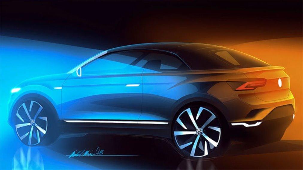 Официально Volkswagen T Roc станет кабриолетом