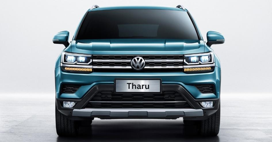 Volkswagen рассекретил новый кроссовер Tharu
