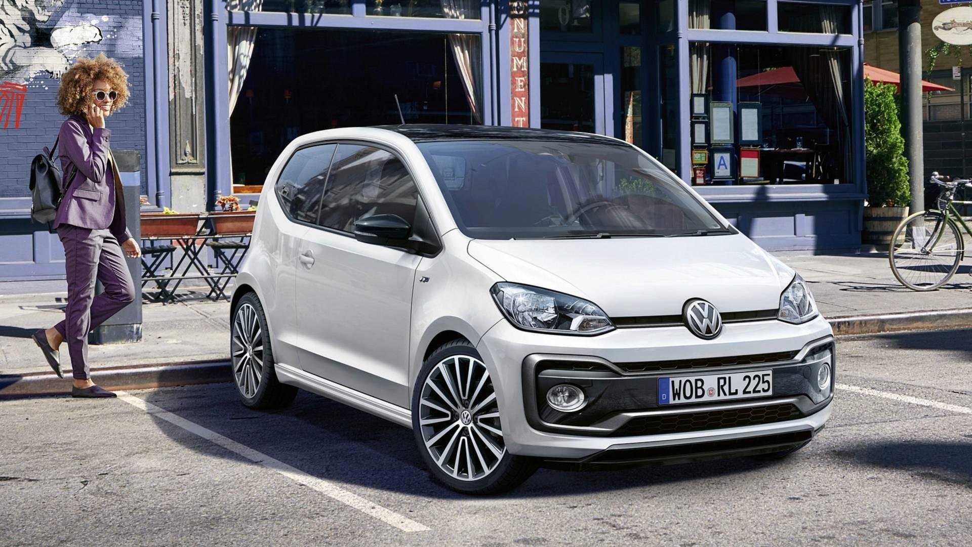 Volkswagen Up! получил оспортивленное исполнение R-Line