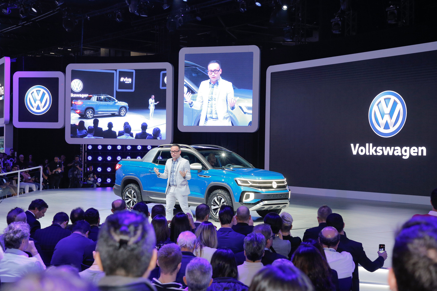 Volkswagen представил концептуальный пикап Tarok
