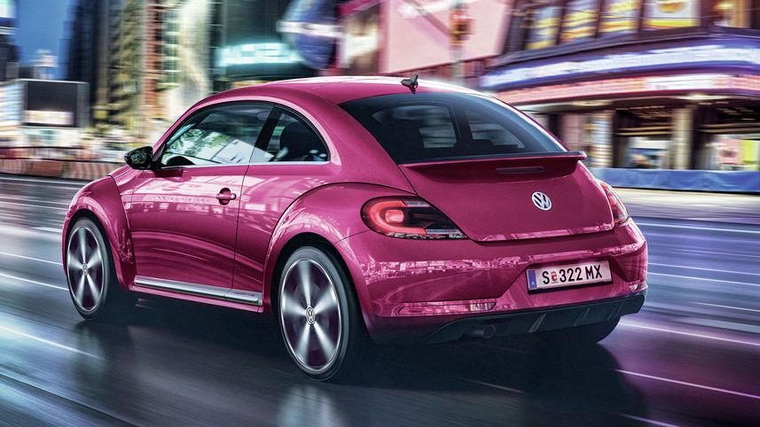 Volkswagen привезет в Украину 15 розовых «Жуков»
