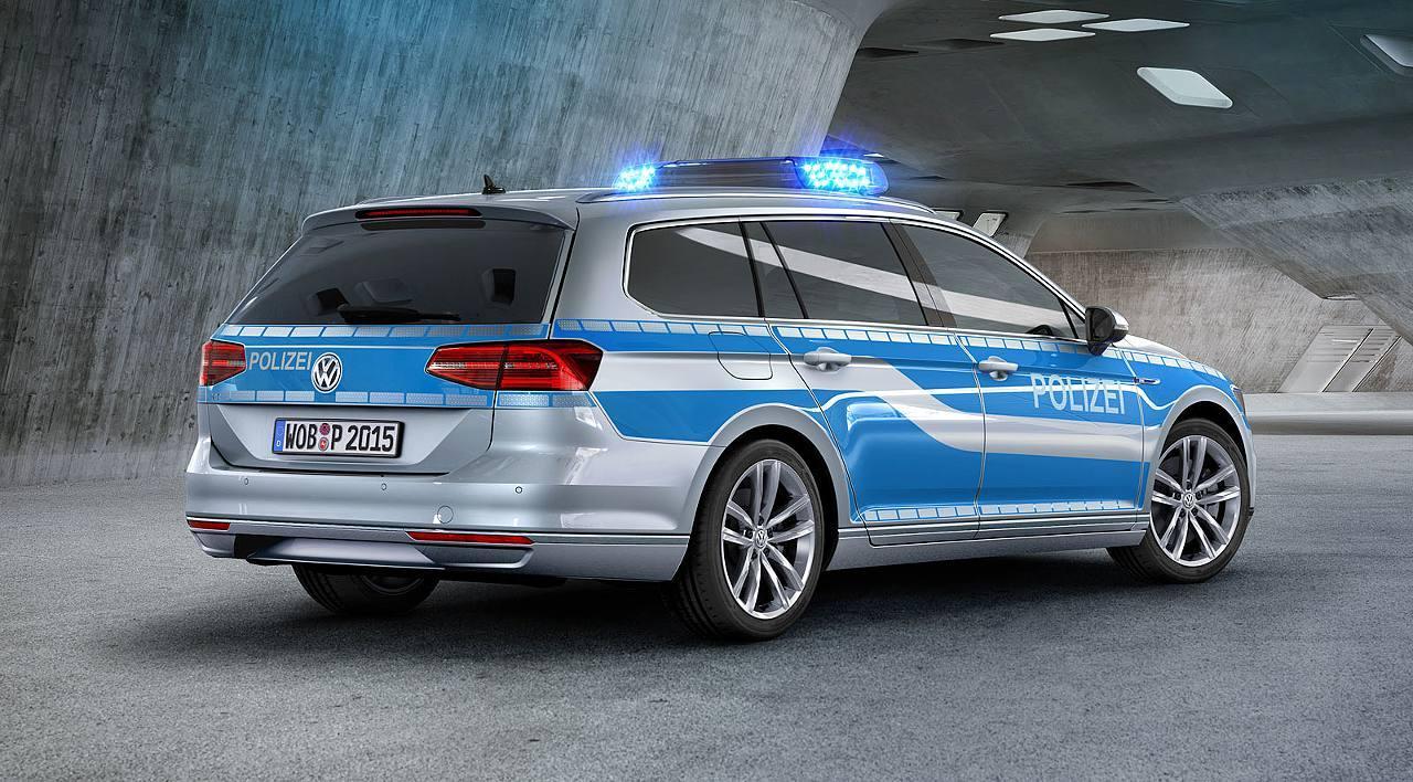 Polizei VW Passat GTE