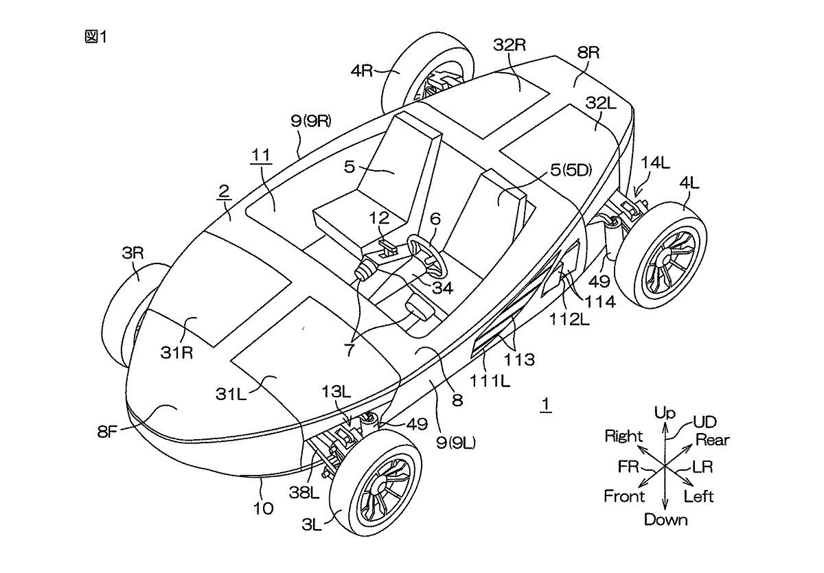 Yamaha запатентовала автомобиль-катер