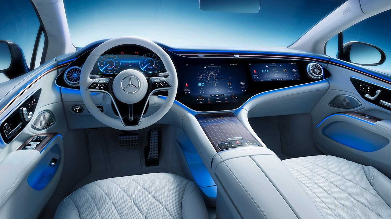 Mercedes-Benz показал, каким должен быть салон электромобиля представительского класса